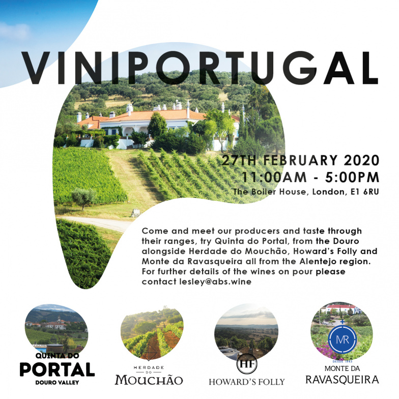 VISIT US AT VINIPORTUGAL 2020
