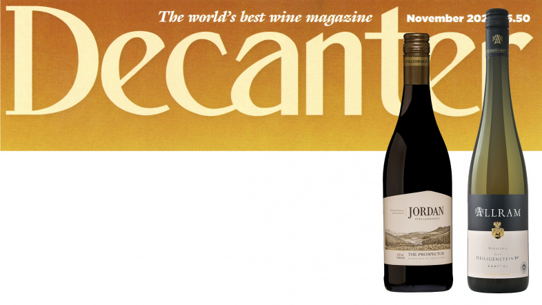 ABS in the November 2020 Decanter issue