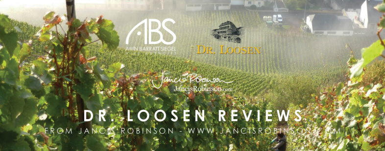 Jancis Robinson Dr Loosen GG Tasting Notes