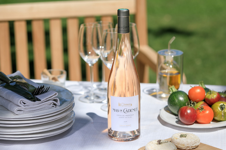 Mas de Cadenet Rosé Reviews - 90-92 Points